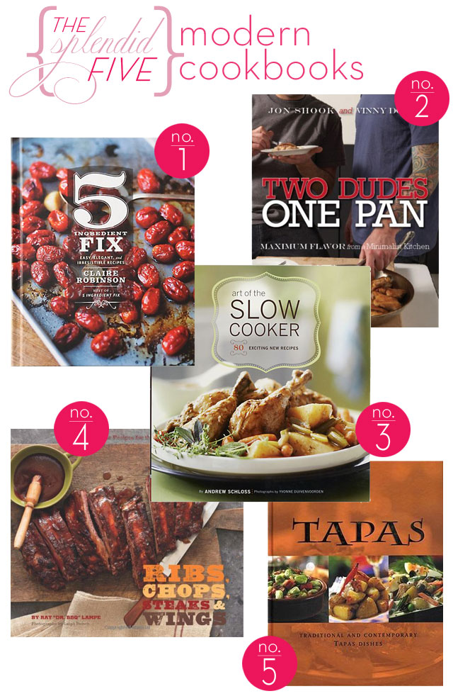 vinny dotolo, jon shook, two dudes one pan, son of a gun, slow cooker recipes, claire robinson 5 ingredient fix, tapas cookbook, grilling cookbook