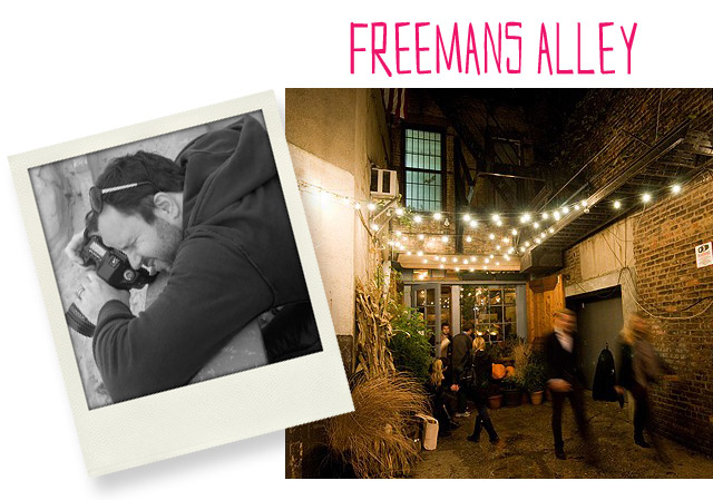 Freemans Alley New York, Kevin Dotolo, NYC Restaraunt
