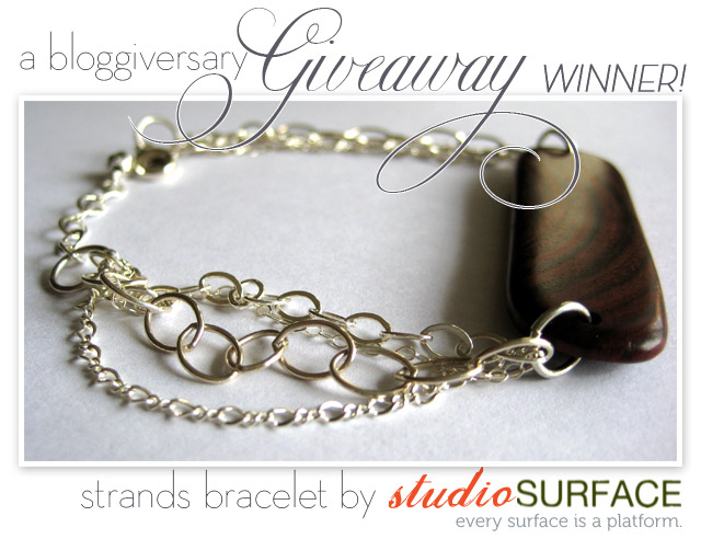 studio surface, giveaway, bloggiversary