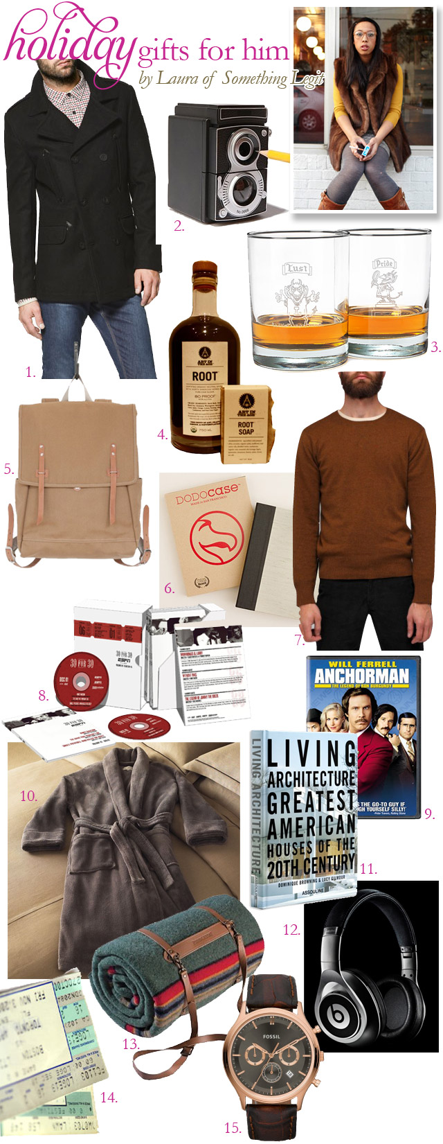 Men's holiday gift guide 2011
