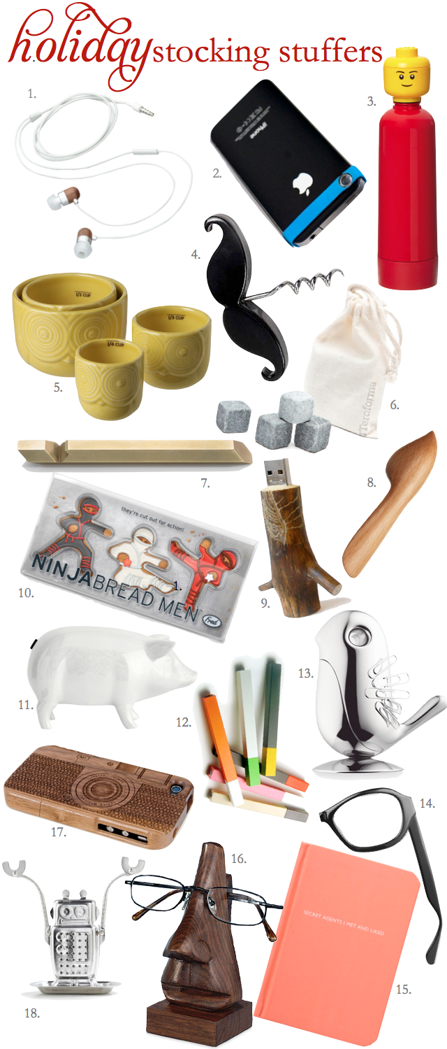 Stocking Stuffer Holiday gift guide